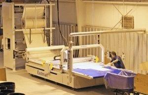 Fiberglass Cutting CNC